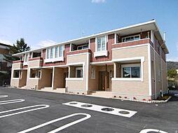 和歌山県岩出市西安上の賃貸アパートの外観