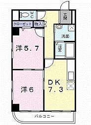 アーバンルネッサンス[2階]の間取り