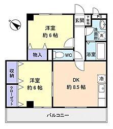 セブンステージ[2階]の間取り