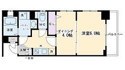 エステムプラザ京都ステーションレジデンシャル[304号室号室]の間取り