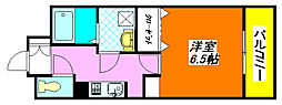 スパジオ・ヴィータ 220号室[2階]の間取り