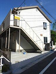 東京都板橋区舟渡3丁目の賃貸アパートの外観