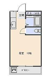 大野マンション[305号室号室]の間取り