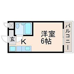 グランディア甲子園[2階]の間取り