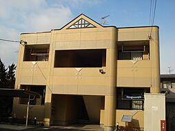 愛知県一宮市柚木颪字東川垂の賃貸アパートの外観