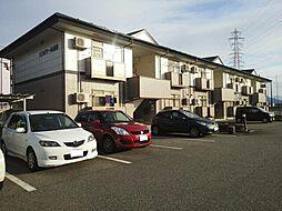 富山県富山市赤田の賃貸アパートの外観