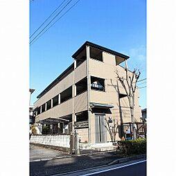 東京都足立区東和5の賃貸アパートの外観