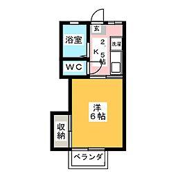 メゾンド・モネ[2階]の間取り