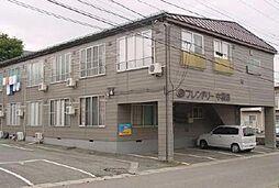山形県山形市中桜田2丁目の賃貸アパートの外観