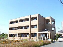 埼玉県鴻巣市すみれ野の賃貸マンションの外観