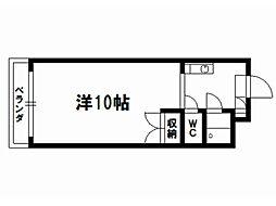 ペルベーネ・タカラ[4階]の間取り