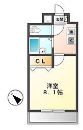 スカイコール古井ノ坂[6階]の間取り