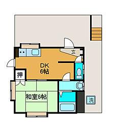 NTハイム2[3階]の間取り