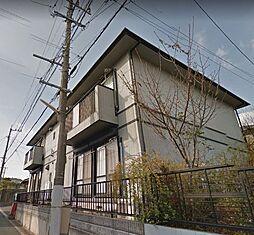 福岡県遠賀郡岡垣町旭台5丁目の賃貸アパートの外観