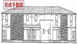 兵庫県高砂市米田町米田西ノ野の賃貸アパートの外観