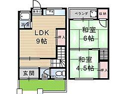 武庫之荘駅 4.3万円