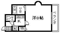 ラフィーネ大宮弐番館[331号室]の間取り