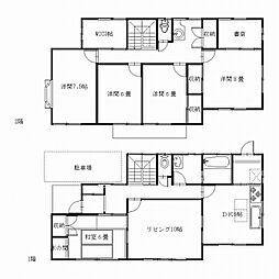 [一戸建] 神奈川県逗子市久木8丁目 の賃貸【/】の間取り