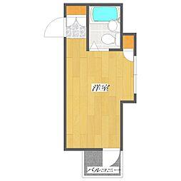 Nagahide Building[1階]の間取り