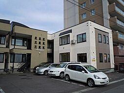 北海道旭川市宮下通18丁目の賃貸アパートの外観