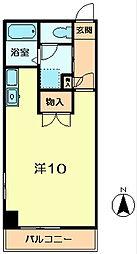 メゾンドヒル[3階]の間取り