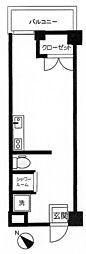 JR東海道本線 熱海駅 徒歩21分の賃貸マンション 1階1Kの間取り