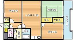 第4晴和ビル[4階]の間取り
