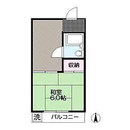 東京都江戸川区中葛西3の賃貸マンションの間取り