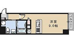 クリスタル昭和[2階]の間取り