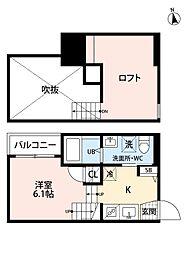 レ・マーユ 桜ヶ丘[2階]の間取り
