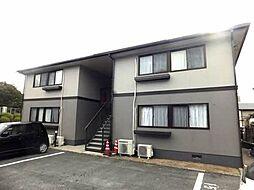 山口県下関市長府中六波町の賃貸アパートの外観