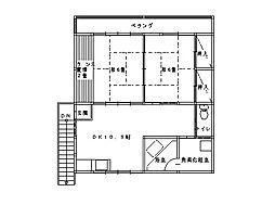 稲生アパート[2-1号室]の間取り