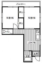 MKビル[2階]の間取り