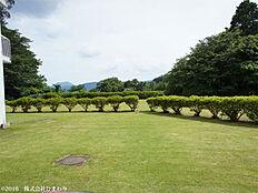 敷地内庭園