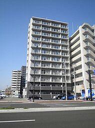 宮城県仙台市宮城野区二十人町の賃貸マンションの外観