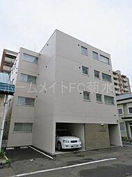 北海道札幌市中央区北二条東8丁目の賃貸マンションの外観