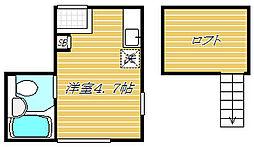ラ・フォート小岩[1階]の間取り
