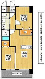 メディプラカーサ[2階]の間取り