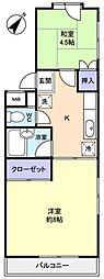八千代台パーソナルハウスPart11[2階]の間取り