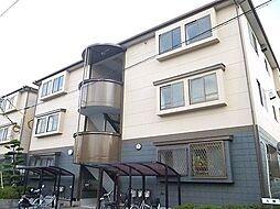 清水タウンA棟[3階]の外観