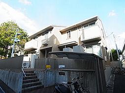 兵庫県神戸市灘区岩屋北町2丁目の賃貸アパートの外観