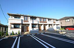 岐阜県可児市下恵土の賃貸アパートの外観