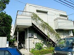 東京都大田区中央6丁目の賃貸マンションの外観