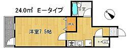 グランドヒル瀬田[7E号室]の間取り