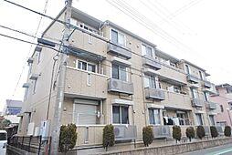 埼玉県吉川市中曽根2丁目の賃貸アパートの外観