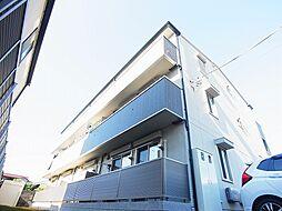 千葉県柏市ひばりが丘の賃貸アパートの外観