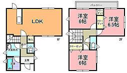 [一戸建] 茨城県水戸市六反田町 の賃貸【/】の間取り