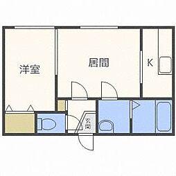 アンダンテ[2階]の間取り