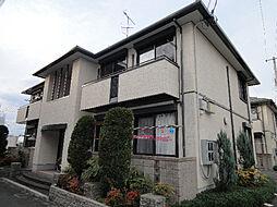 愛媛県松山市雄郡2丁目の賃貸アパートの外観