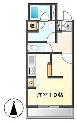 BONNY HIROZI[4階]の間取り